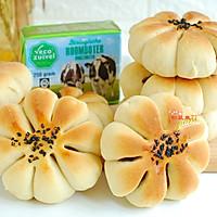 豆沙花型面包的做法图解11