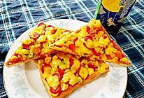 吐司披萨(平底锅超简单版)#我要上首页挑战家常菜#的做法