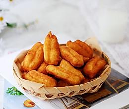#憋在家里吃什么#奶香小油条的做法