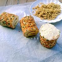 香葱肉松蛋糕卷#烘焙梦想家(华东)#的做法图解23
