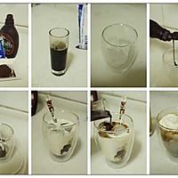 夏日午后尽享悠闲【冰摩卡咖啡】的做法图解2