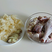 银耳红枣鸡汤#美的微波炉菜谱#的做法图解3