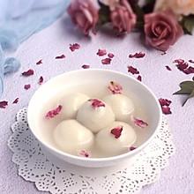 带着玫瑰芳香的红豆汤圆