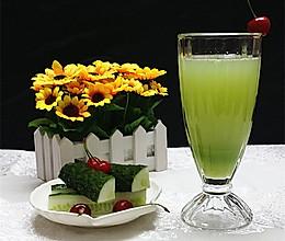 黄瓜蜂蜜汁#爱的暖胃季-美的智能破壁料理机#的做法