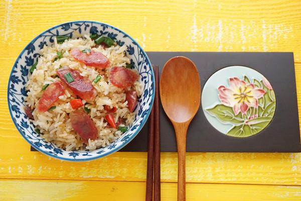 广式腊味饭的做法