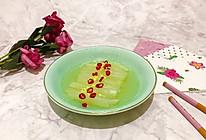 #做道懒人菜,轻松享假期#水晶白菜的做法