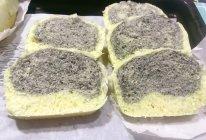 #橄享国民味 热烹更美味#黑芝麻双拼馒头的做法