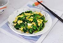 鸡蛋炒菠菜的做法