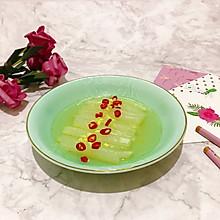 #做道懒人菜,轻松享假期#水晶白菜