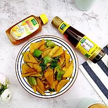 #太太乐鲜鸡汁芝麻香油#土豆片青椒