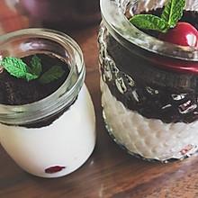 奥利奥盆栽酸奶