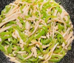 超好吃❤️杏鲍菇炒尖椒的做法