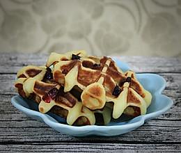 糯米酸奶蔓越莓华夫饼的做法