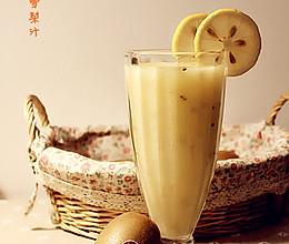 猕猴桃雪梨汁的做法