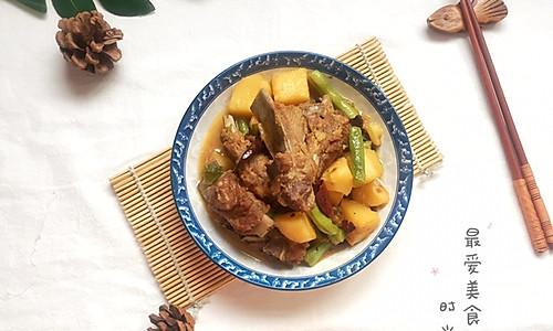 吃肉肉,不想长肉肉~双豆炖排骨的做法