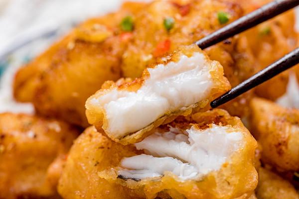 椒盐九肚鱼 | 细腻滑嫩的做法