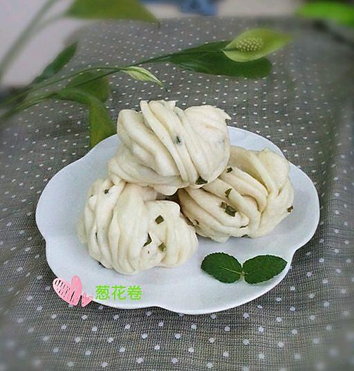 面食~葱花卷的做法