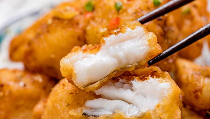 椒盐九肚鱼 | 细腻滑嫩