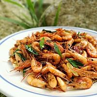 炒河虾的做法图解6
