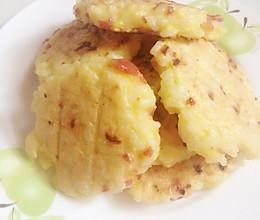 快手早餐~煎米饼的做法