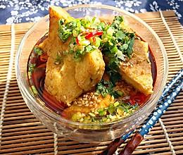 古北香煎豆腐角的做法