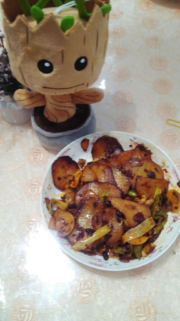 没有干锅的干锅土豆的做法