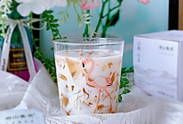 #夏日撩人滋味#秒杀奶茶店的白桃乌龙茶冻撞奶的做法