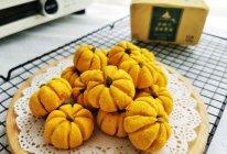 #奈特兰草饲营养美味#哄娃神器~萌新可爱的南瓜饼干的做法