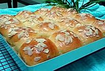 杏仁小餐包#东菱魔法云面包机#的做法