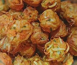 #我们约饭吧#酥香炸丸子的做法