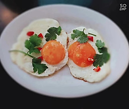 #全电厨王料理挑战赛热力开战!#煎鸡蛋的做法