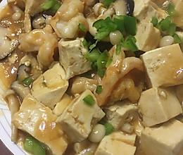 豆腐虾仁的做法