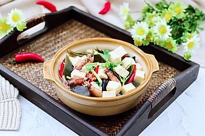 海兔海带豆腐汤