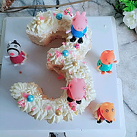 网红数字裸蛋糕