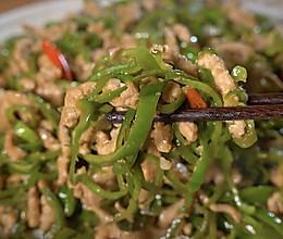 青椒肉丝是先炒肉丝?还是青椒?的做法
