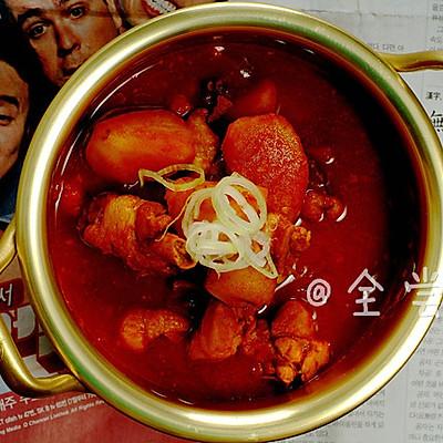 【韩国美食】—辣炖鸡汤
