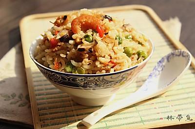 什锦海鲜焖饭