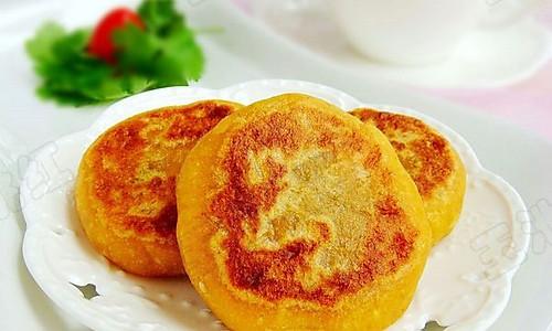 柿子豆沙饼的做法