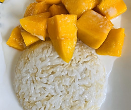 泰国椰浆芒果饭的做法