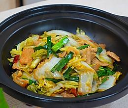 酸辣大白菜煲的做法