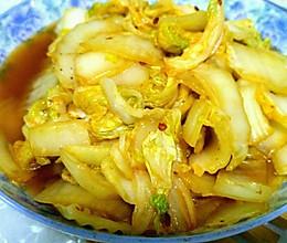 素炒白菜的做法