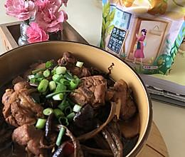 #糖小朵甜蜜控糖秘籍#茶树菇炖鸭腿的做法