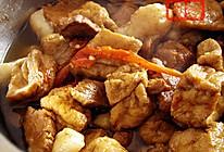 油豆腐烧肉的做法
