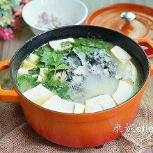 鱼头豆腐汤#花家味道#