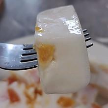 香橙牛奶冻