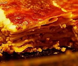 西葫芦蘑菇番茄肉酱千层面的做法
