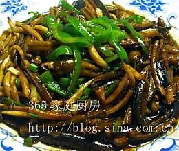 茭白炒鳝丝的做法