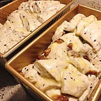 日式炼乳吐司面包的做法图解3