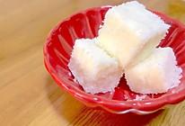 椰蓉牛奶豆腐的做法