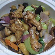 #入秋滋补正当时#有肉有菜的黄焖鸡